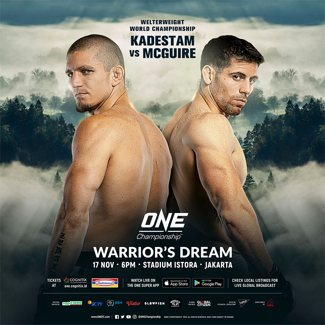 ONE Warrior's Dream Fight Poster