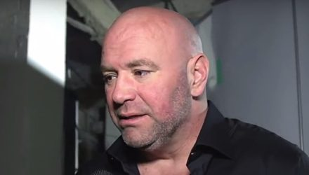 Dana White backstage at UFC 230