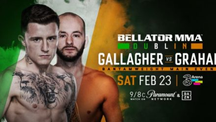 Bellator Dublin - Gallagher vs Graham poster