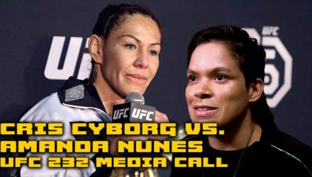 Cris Cyborg vs Amanda Nunes UFC 232 Media Call