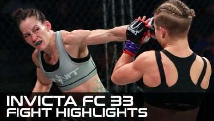 Invicta FC 33 Fight Highlights
