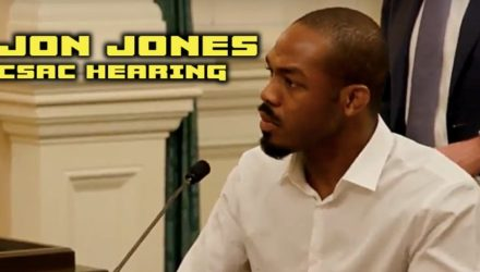 Jon Jones CSAC Hearing - MMAF