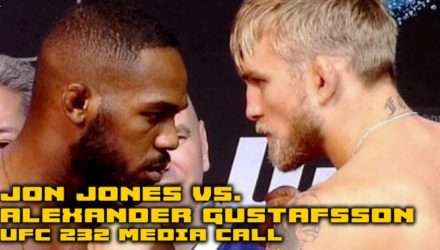 Jon Jones vs Alexander Gustafsson UFC 232 Media Call