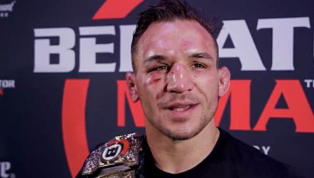 Michael Chandler Post-Bellator 212 - MMAF