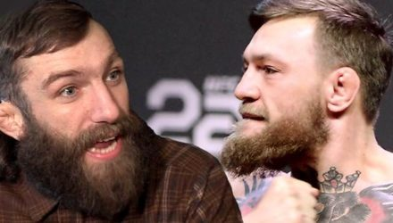 Michael Chiesa and Conor McGregor