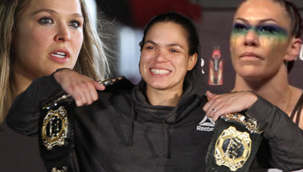 Amanda Nunes compares Ronda Rousey and Cris Cyborg bouts