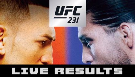 UFC 231 Holloway vs Ortega Live Results