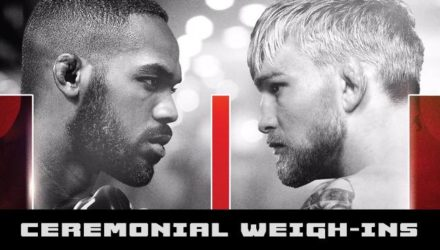 UFC 232 Jones vs Gustafsson 2 Ceremonial Weigh-in Video