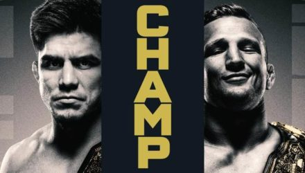 UFC Henry Cejudo vs TJ Dillashaw Champion vs Champion Fight Poster