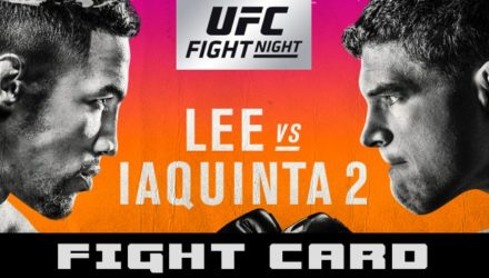 UFC on FOX 31 Lee vs Iaquinta Fight Card