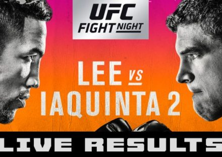 UFC on FOX 31 Lee vs Iaquinta Live Results