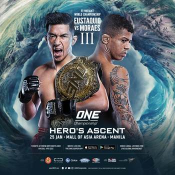 ONE Hero's Ascent Fight Poster