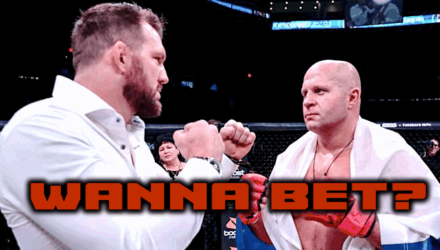 Ryan Bader vs Fedor Emelianenko wanna bet
