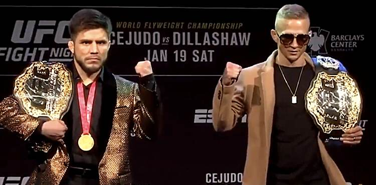 Image result for Henry Cejudo vs. T.J. Dillashaw