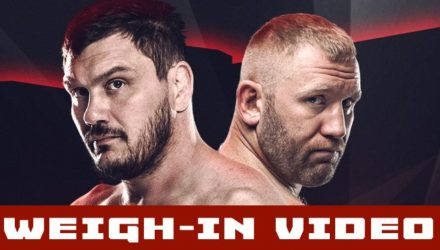 Bellator 215 Mitrione vs Kharitonov Weigh-in Video