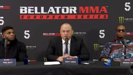 Bellator London Presser - Paul Daley and Michael Page