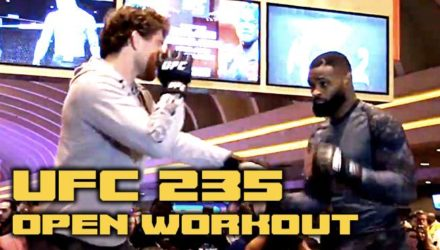 Ben Askren and Tyron Woodley - UFC 235 Open Workout