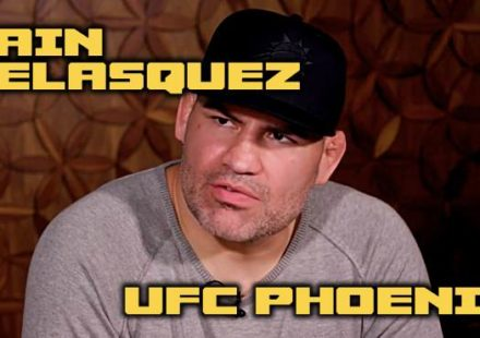 Cain Velasquez - UFC Phoenix Luncheon Video