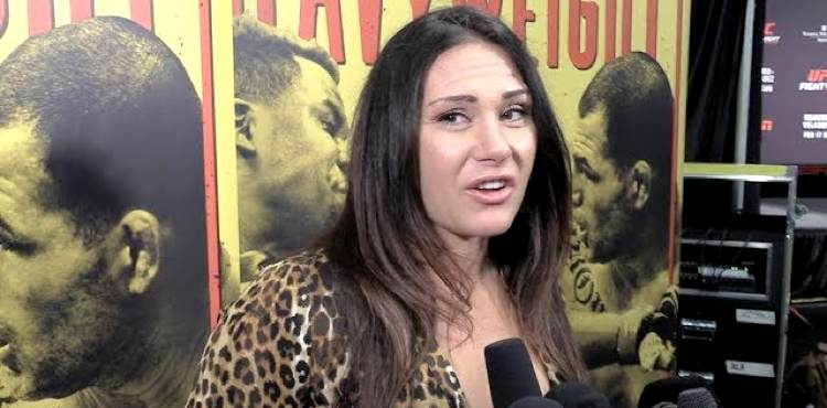 Cat Zingano - UFC Phoenix backstage interview