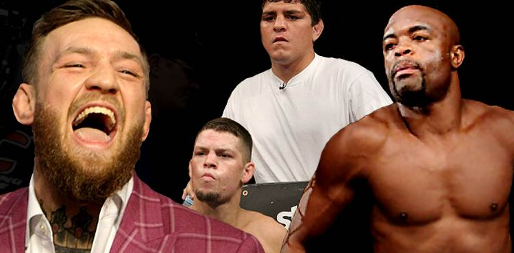 Conor McGregor - Nate and Nick Diaz - Anderson Silva