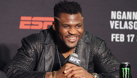 Francis Ngannou - UFC on ESPN 1 Post-Fight