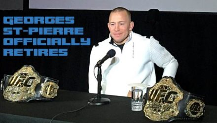 Georges St-Pierre Officially Retires