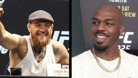 Conor McGregor and Jon Jones
