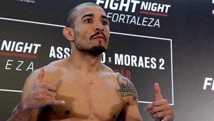 Jose Aldo UFC Fortaleza weigh-in