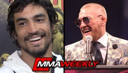 Kron Gracie and Conor McGregor