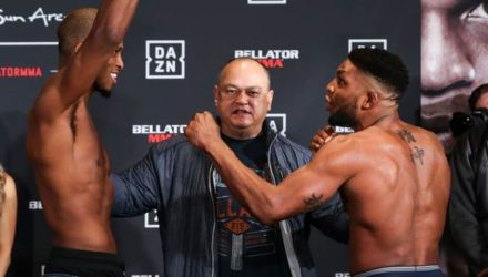 Michael Venom Page vs Paul Daley Bellator 216 weigh-in
