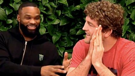 Tyron Woodley and Ben Askren - UFC 235 luncheon