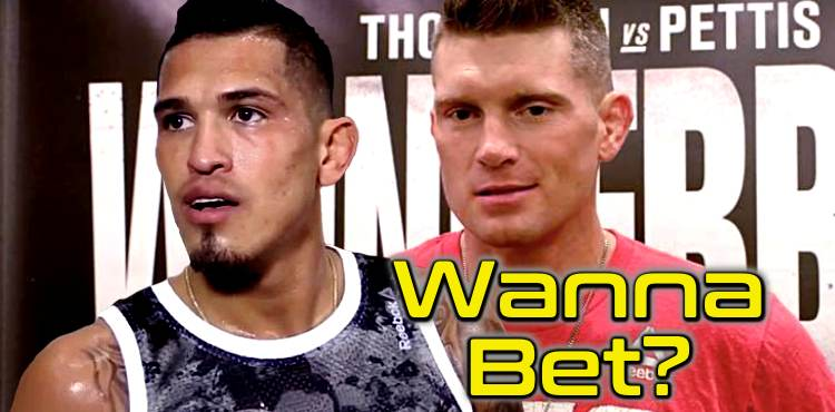 Anthony Pettis and Stephen Thompson wanna bet