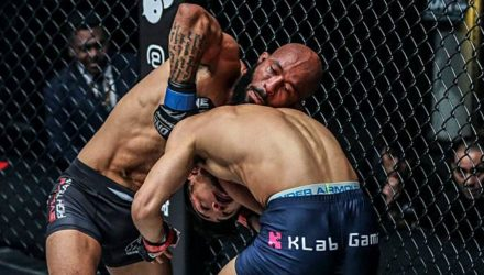 Demetrious Johnson ONE Championship debut victory submission