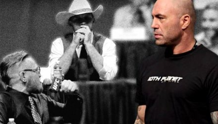 Joe Rogan - Conor McGregor vs Cowboy Cerrone bw blur