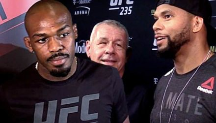 Jon Jones and Thiago Santos - UFC 235