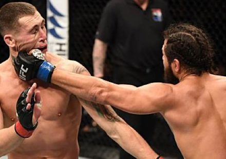 Jorge Masvidal KOs Darren Till at UFC London