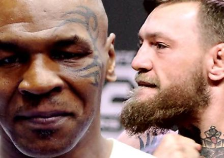 Mike Tyson and Conor McGregor