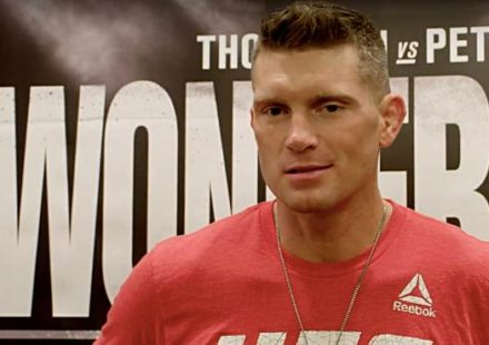 Stephen Thompson - UFC Nashville scrum