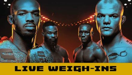 UFC 235 Jones vs Smith Live Weigh-ins