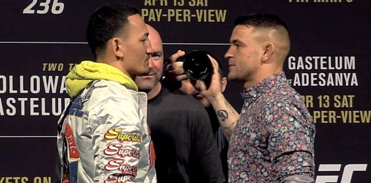 Image result for max holloway vs dustin poirier