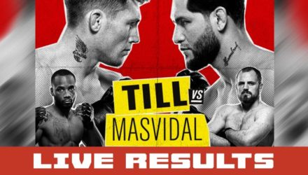 UFC London Till vs Masvidal Live Results