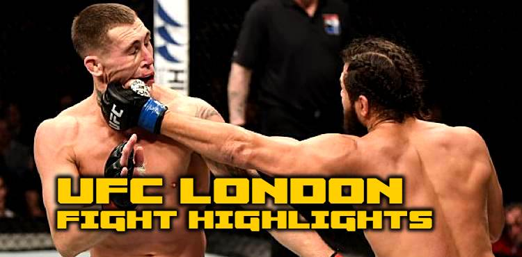 UFC London fight highlights
