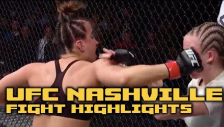 UFC Nashville fight highlights
