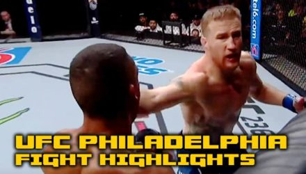 UFC Philadelphia main card fight highlights