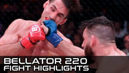 Bellator 220 Fight Highlights