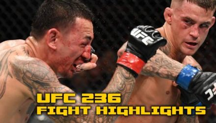 Dustin Poirier UFC 236 fight highlights