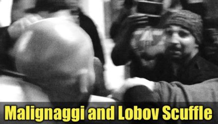 Paulie Malignaggi and Artem Lobov Scuffle ahead of Bare Knuckle Boxing bout