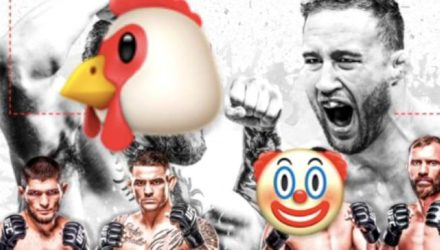 Abdelaziz chick and clown UFC lightweight infographic