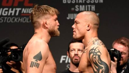 Alexander Gustafsson vs Anthony Smith UFC Stockholm weigh-in