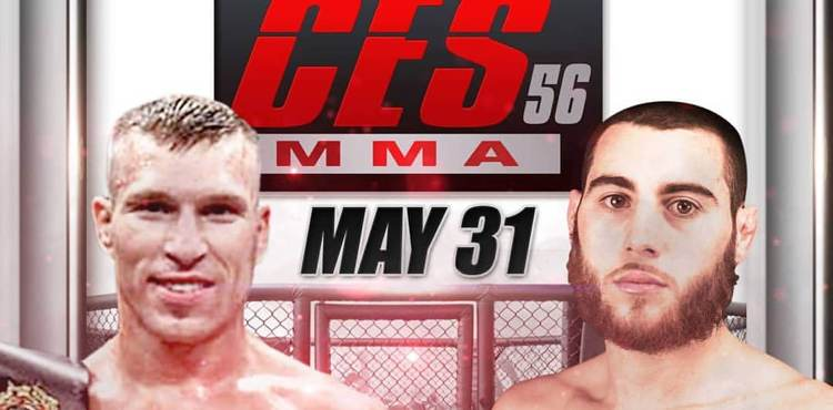 Dan Dubuque CES MMA 56 fight poster